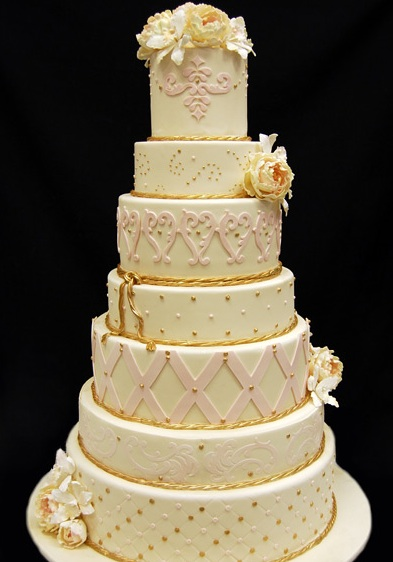 Four And Five Tier Fake Wedding Cakes